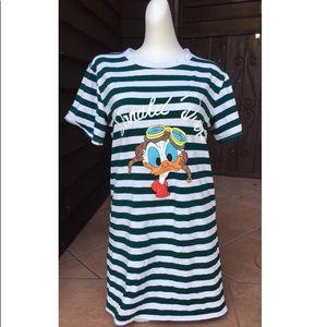 Vintage Donald Suck Shirt Dress